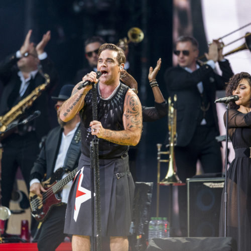 Robbie Williams im DDV-Stadion