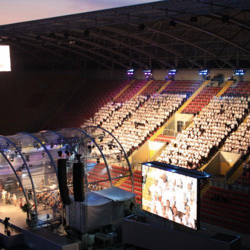 Stadion-Dresden-Konzert-Chor
