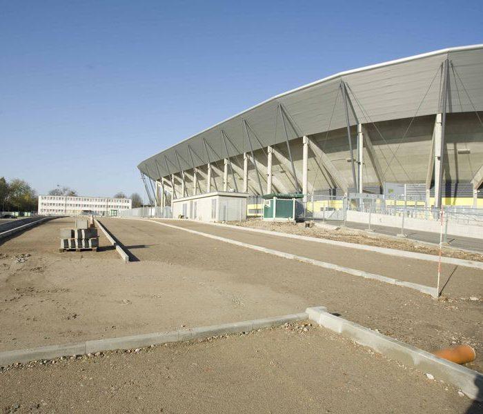 Stadion Dresden Bauphase