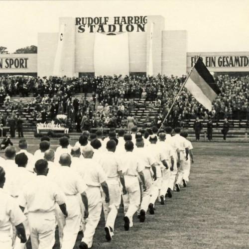 Rudolf Harbig Stadion, Gedenksportfest