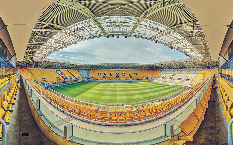 Stadion Dresden Panorama