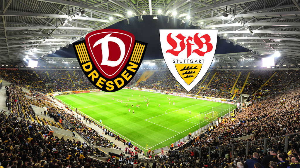 ddv stadion sg dynamo dresden vs vfb stuttgart. Black Bedroom Furniture Sets. Home Design Ideas