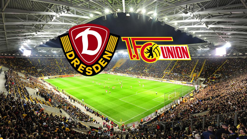Sg Dynamo Dresden Vs  Fc Union Berlin
