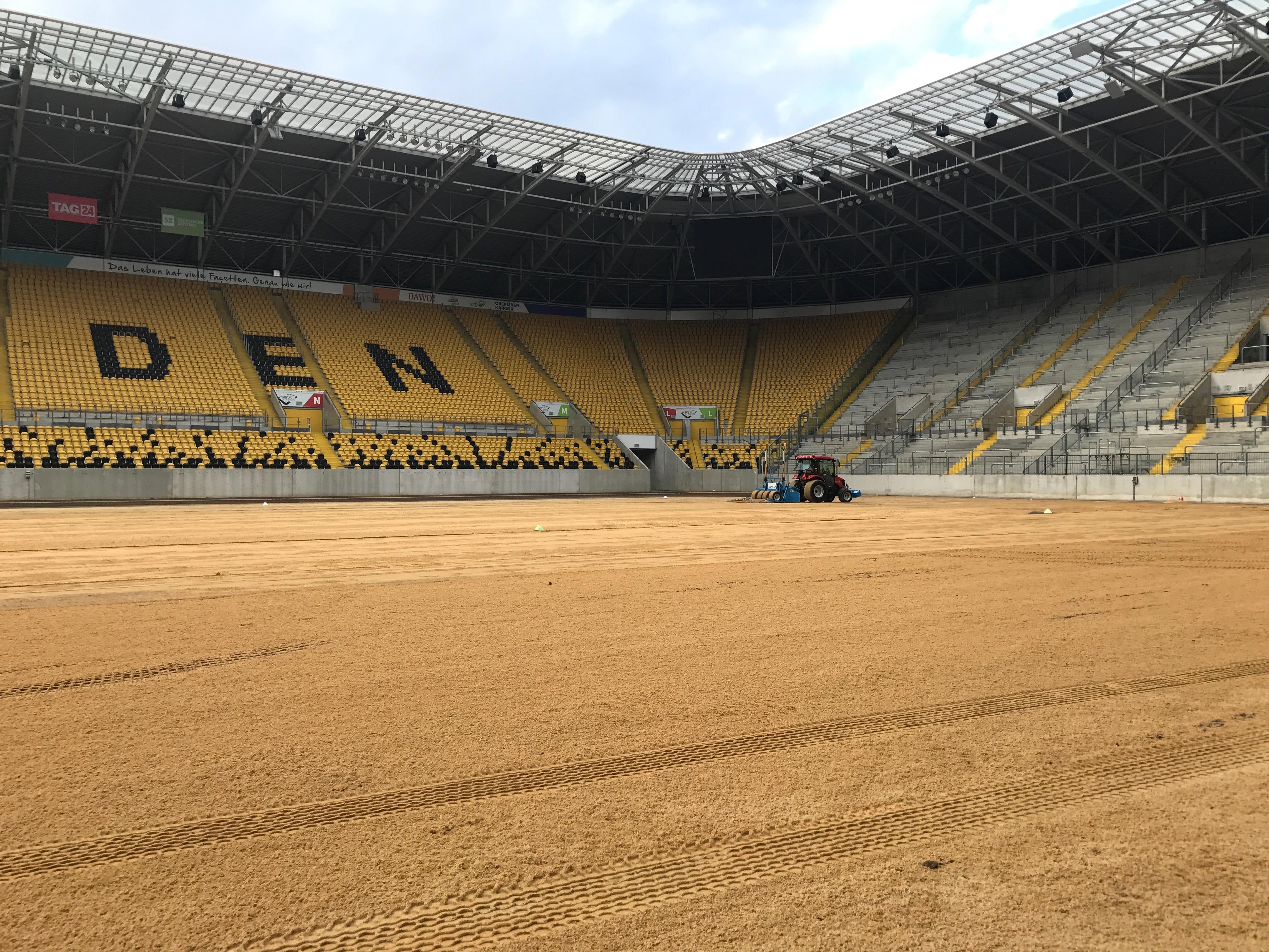 DDV-Stadion Bekommt Einen Neuen Rasen
