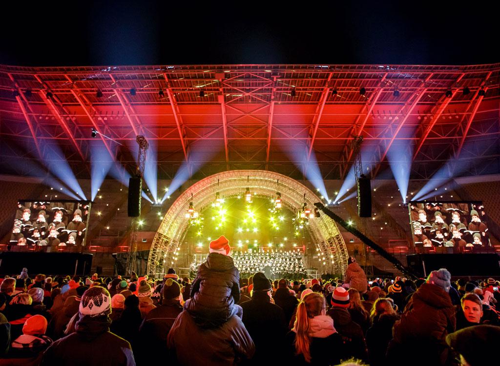 Rudolf Harbig Stadion Das Große Adventskonzert 2017