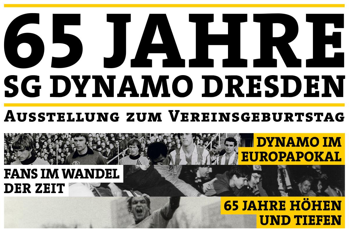 65 Jahre SG Dynamo Dresden