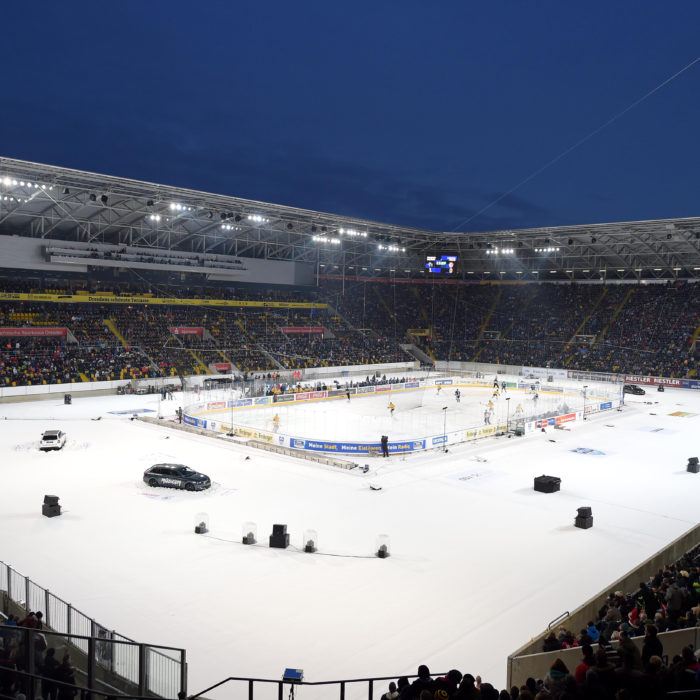 Übersicht während des Winter Derbys Dresden 2016 am 09.01.2016 in Dresden, Deutschland. (Foto von City-Press GbR) Copyright: Winter Derby Dresden/City-Press Abdruck Honorarfrei