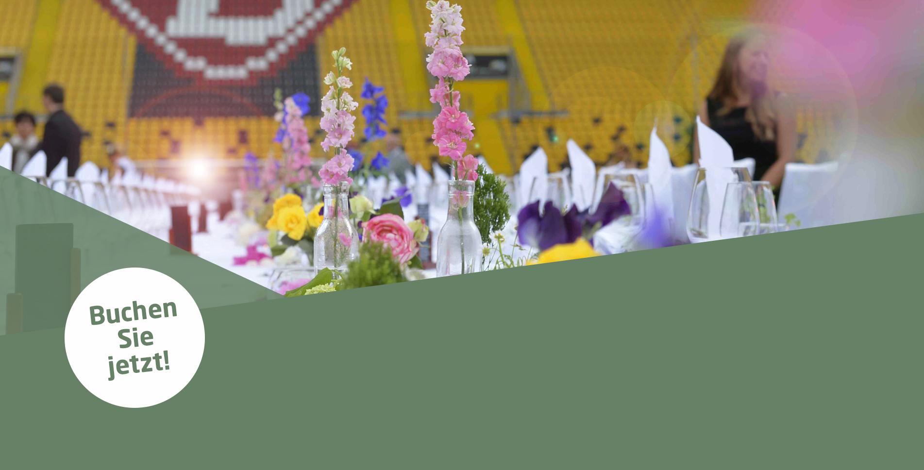 Wir planen gemeinsam mit Ihnen Ihre Familienfeier im Rudolf-Harbig-Stadion!