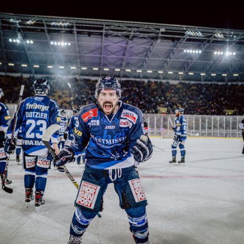 Hockey Open Air 2020 - Eislöwen Dresden Foto: Ben Gierig